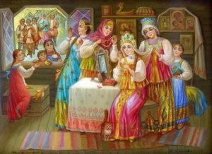 Свадебные обычаи и традиции на руси