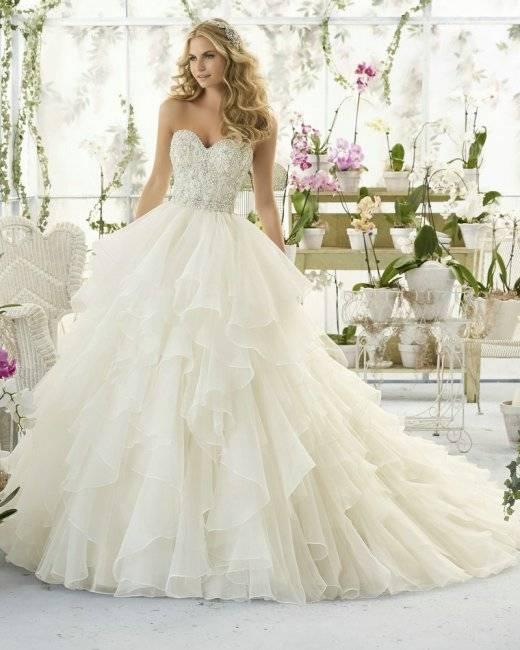 Красивейшие свадебные платья 2020-2021 года – фото новинки из последних коллекций   lady glamor