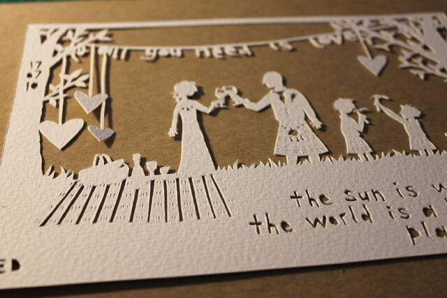 Что запоминающееся можно подарить на бумажную годовщину (2 года свадьбы)?