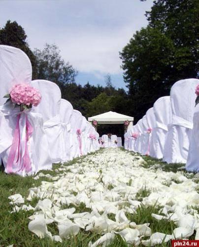 Свадьба в русском стиле: оформление торжества