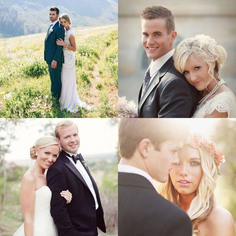Позы для свадебной фотосессии (67 фото): как позировать паре летом на природе и на улице? красивые позы для невесты в загсе