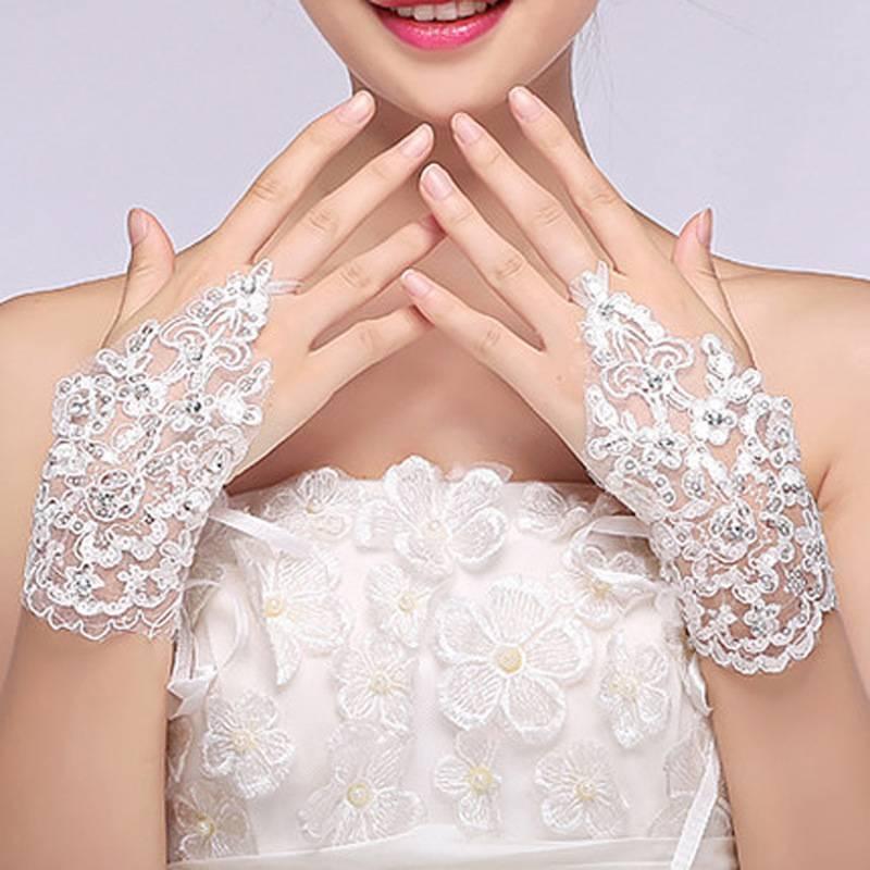 Как правильно выбрать длинные свадебные перчатки