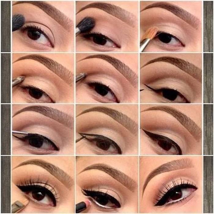 Свадебный макияж для карих глаз: идеи, фото