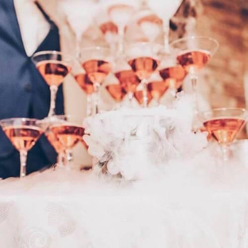 Советы по расчету количества алкоголя и безалкогольных напитков на свадьбу