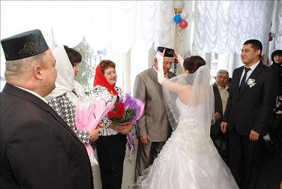 Молитва женихом и невестой при никах