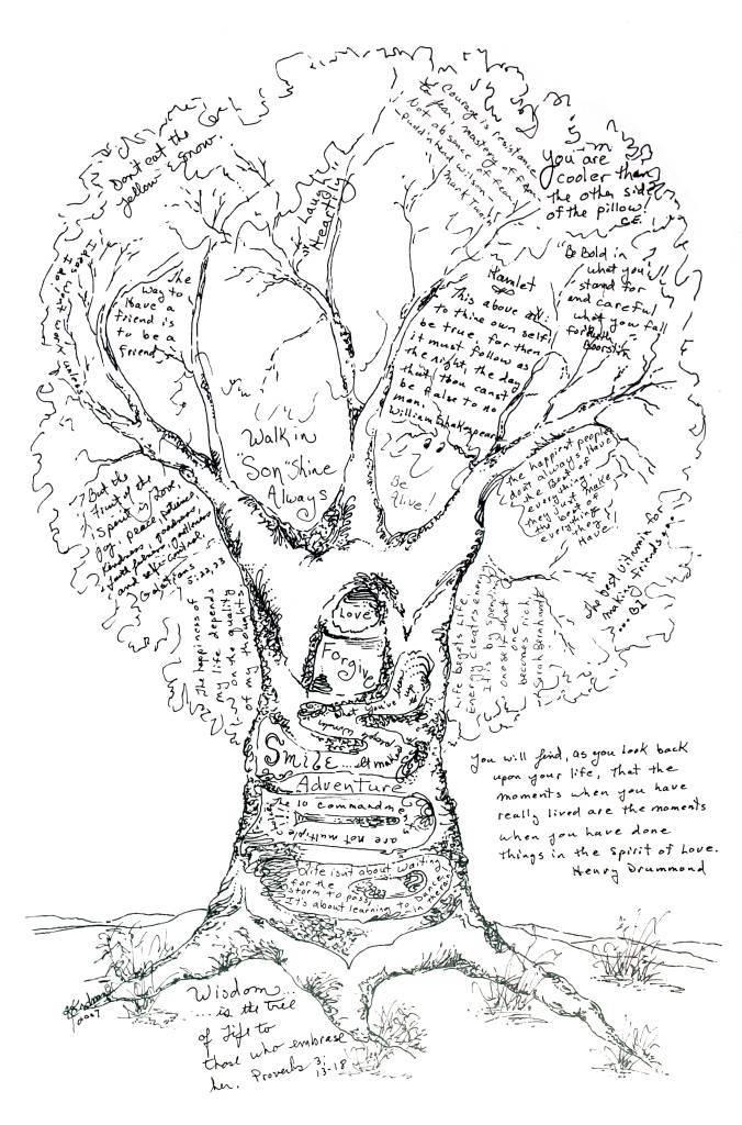 Дерево пожеланий своими руками