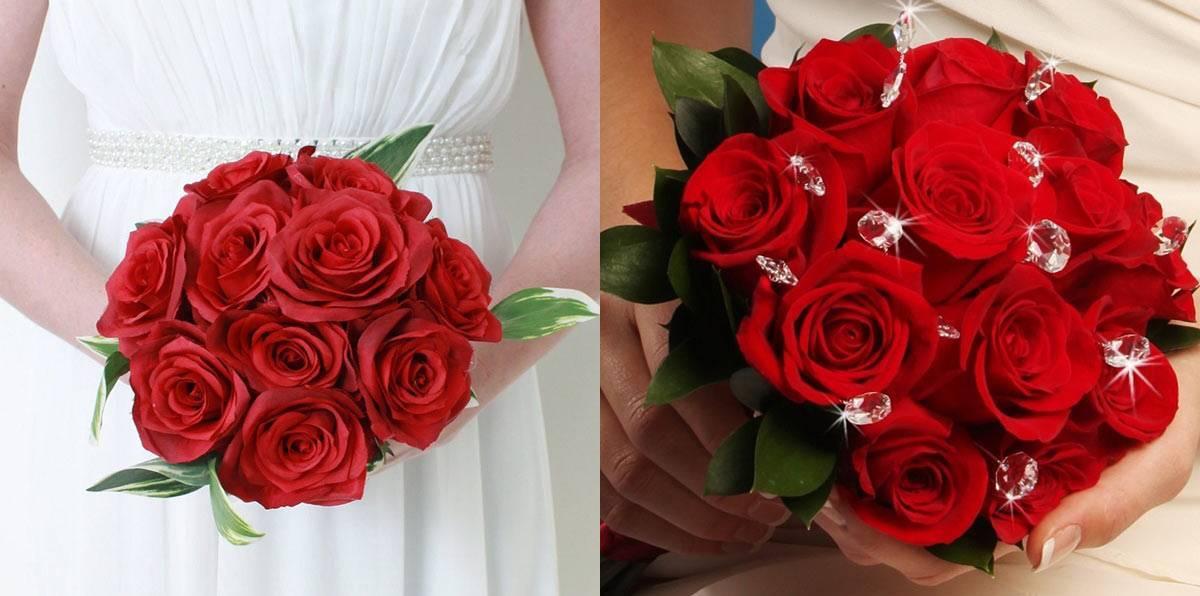 Цветы для свадебного букета невесты