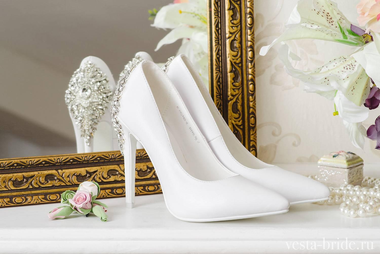 Цвет свадебных туфлей