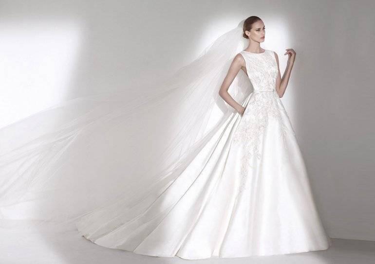 Как в домашних условиях отпарить свадебное платье