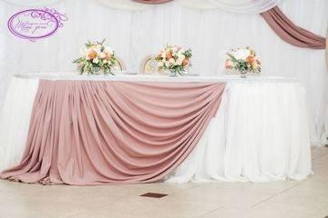 Оформление свадебного зала цветами (56 фото): украшение помещения на свадьбу живыми цветами и из бумаги
