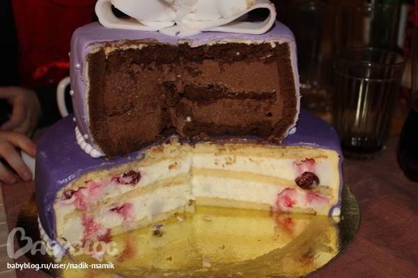 Оформления кремового свадебного торта и выбор самого вкусного крема