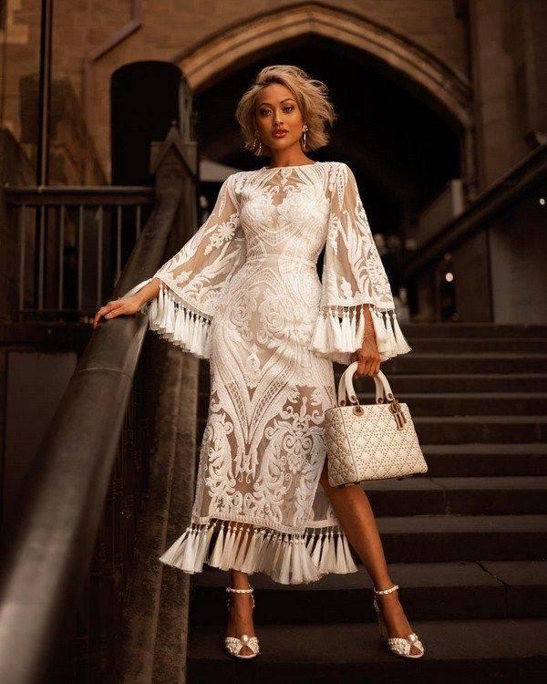 Фасоны вечерних платьев 2020 (58 фото): модные, из шифона, летние, русалка, простого фасона