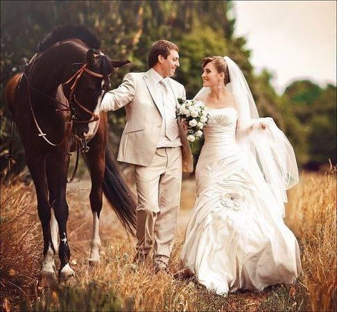 Интересные идеи свадебной фотосессии: примеры