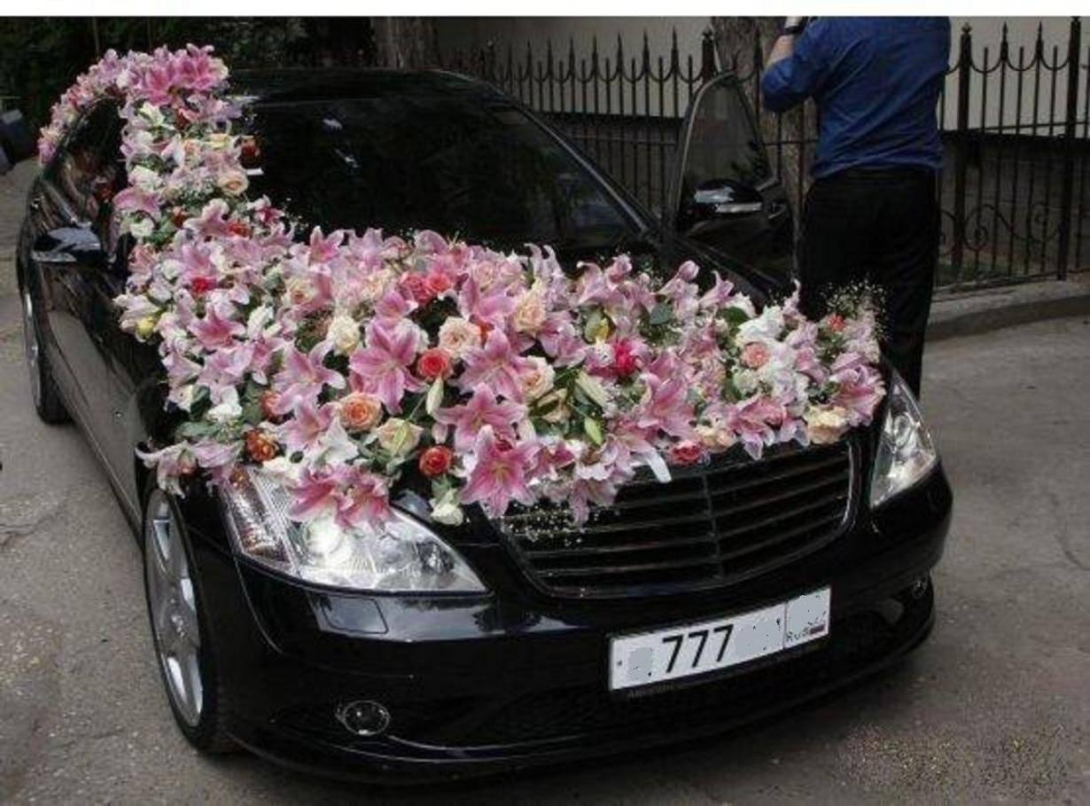Как украсить свадебную машину - 20 идей