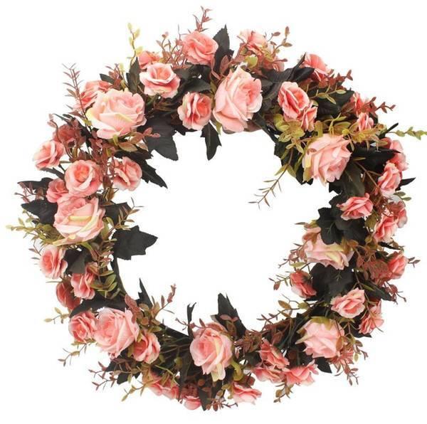 Венки на голову из цветов на свадьбу, нежный свадебный аксессуар для волос невесты: рассматриваем во всех подробностях