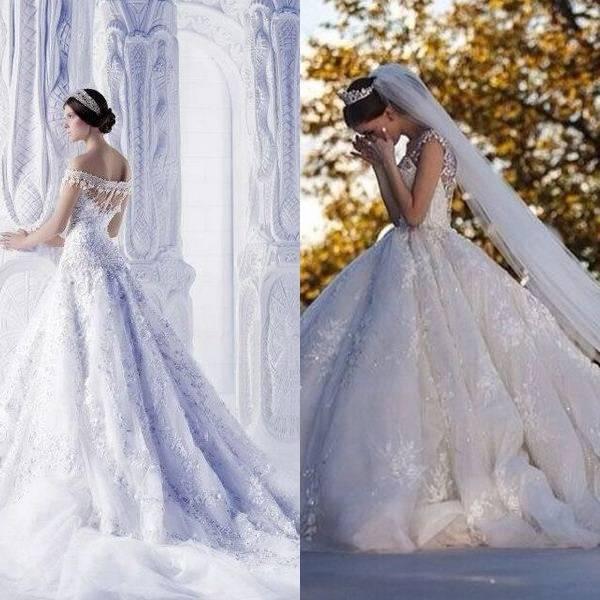Свадебные платья в русском народном стиле