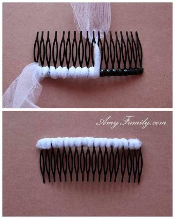 Прически с диадемами на волосы разной длины
