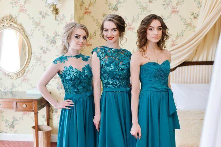 Платье на свадьбу подруги — как выбрать? лучшие наряды 2017 года