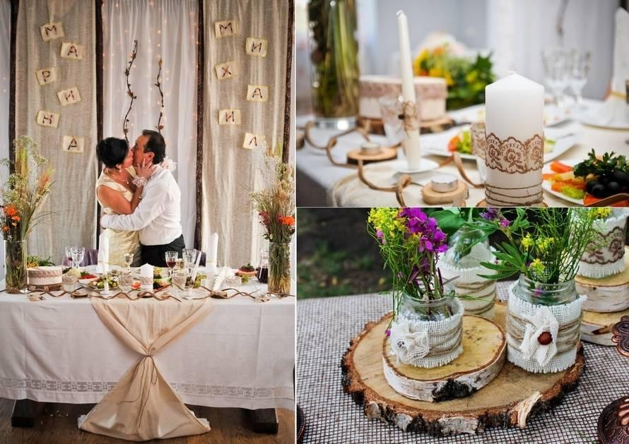 Свадьба в стиле рустик (250+ фото)