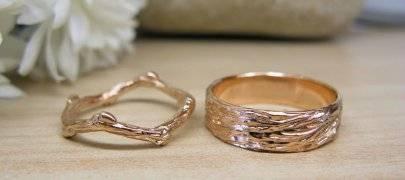 Классические обручальные кольца (фото)