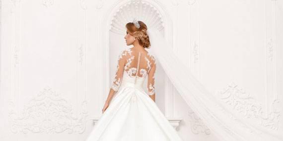 Свадебные платья с кейпом – тренд 2020 года