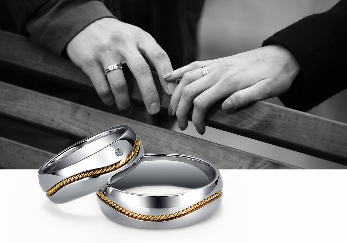 На каком пальце носят помолвочное кольцо до свадьбы в россии