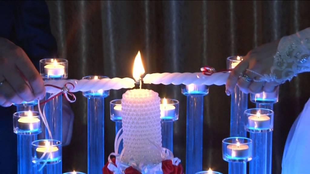 Свадебная традиция: зажжение семейного очага