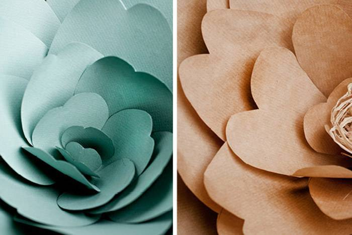 Цветы из бумаги своими руками: 80 фото-идей