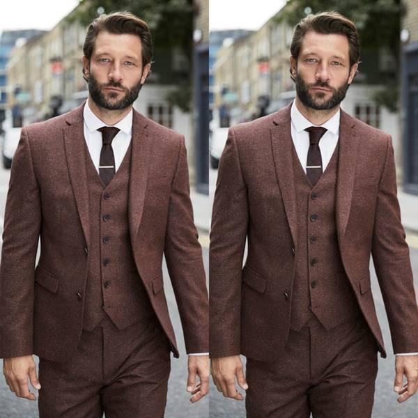 Мужские костюмы на свадьбу (фото)