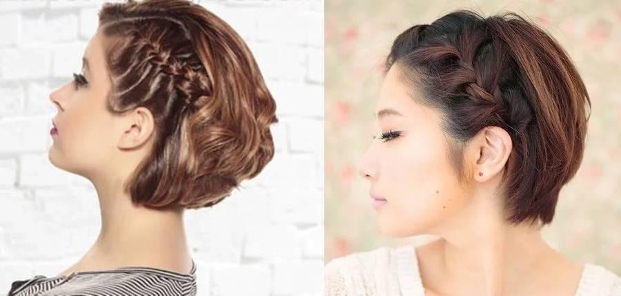 Прически на волосы до плеч в домашних условиях фото и видео пошагово