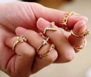 Таблица размеров колец  средний размер кольца девушки