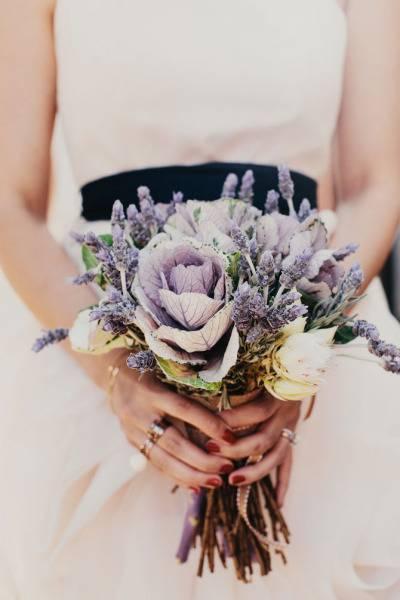 Нежная свадьба в цвете лаванды