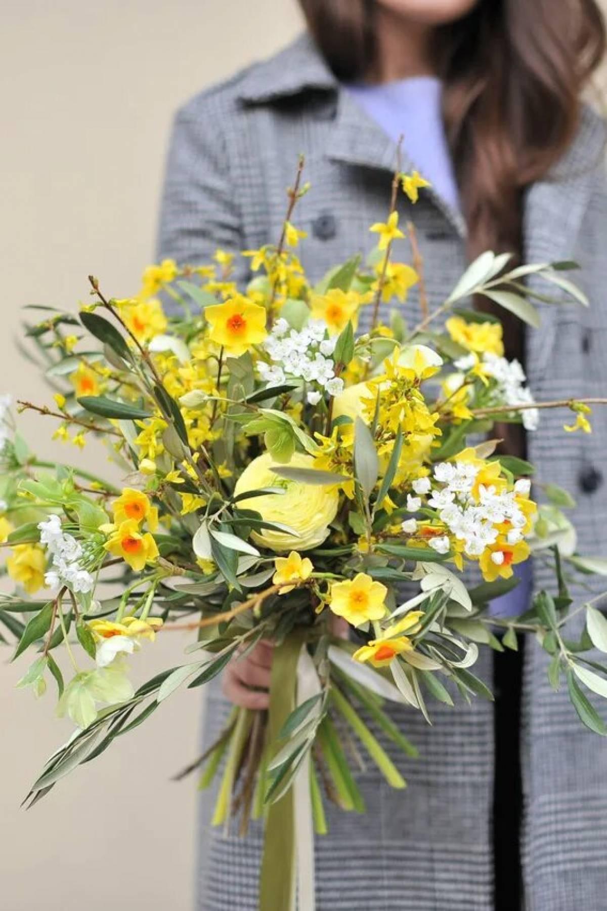 Как составить свадебный букет невесты из лилий