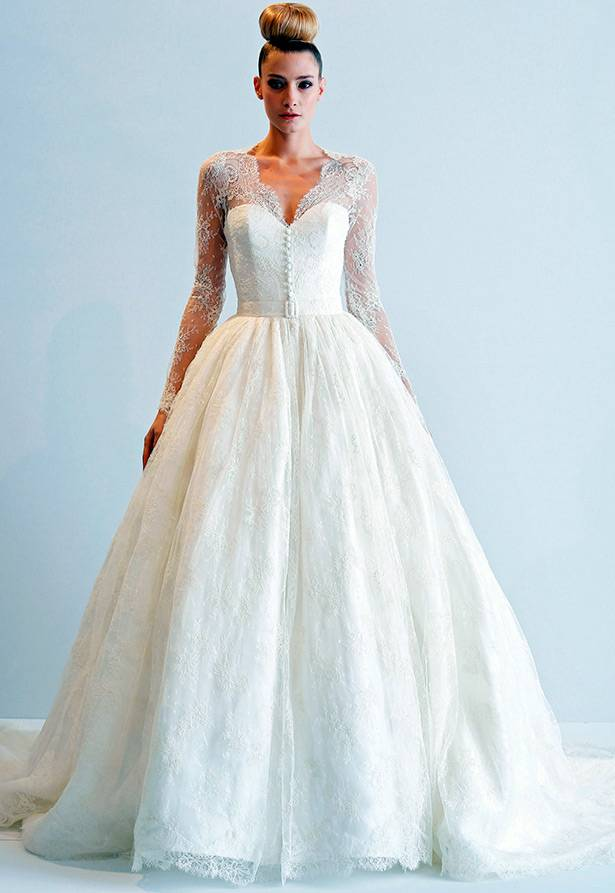 Свадебное платье с рукавами из кружева: варианты с длинными, короткими кружевными рукавами
