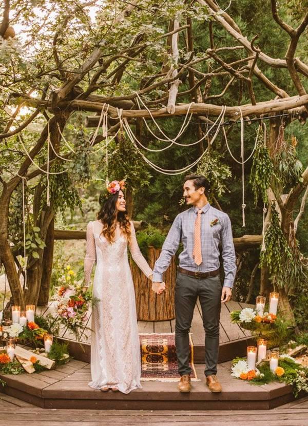 65 идей одежды на свадьбу в стиле рустик