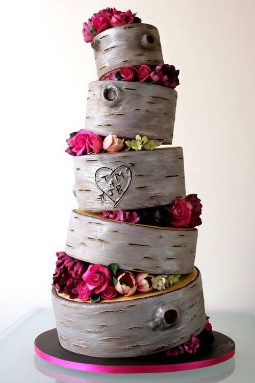 7 свежих трендов, которые сделают твой свадебный торт самым модным в 2020 году