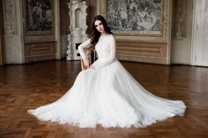 Свадебные платья для полных девушек: особенности, модели, фото