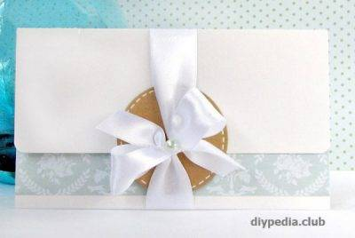 Как сделать конверт  из бумаги а4 своими руками без клея для денег и письма