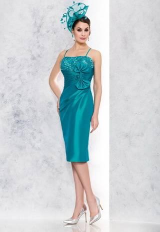 Быть эффектной: зеленое, изумрудное и мятное свадебное платье