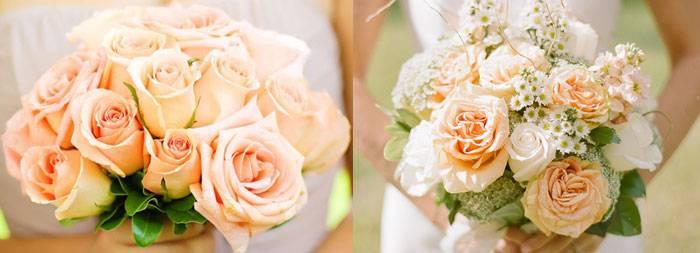 Сочетания персикового цвета в одежде и его оттенков
