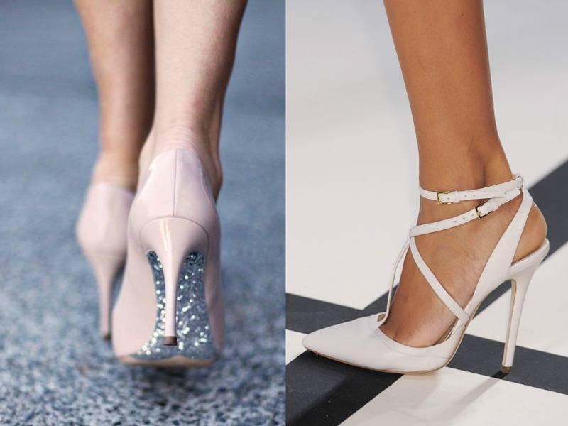 Топ-5 вариантов обуви на летнюю свадьбу