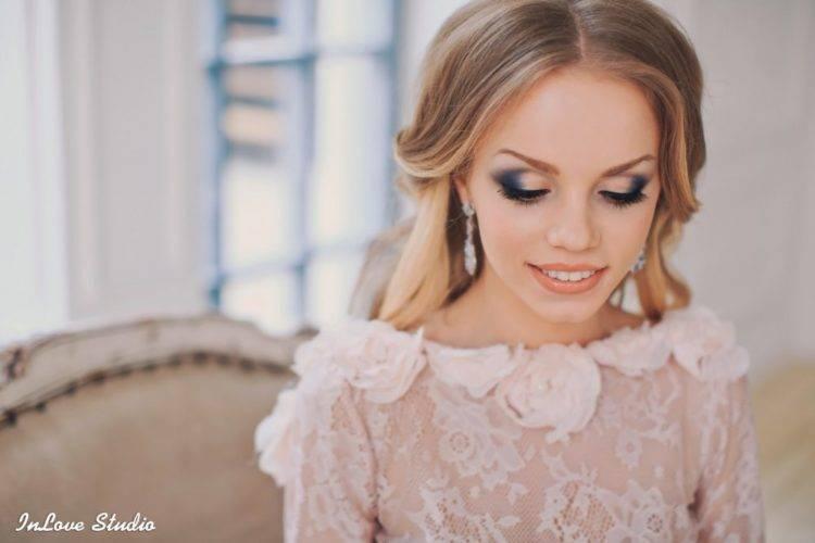 Макияж на свадьбу для гостей (18 фото): нанесение make-up для гостьи пошагово своими руками