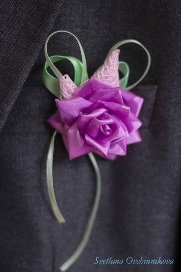 Как сделать бутоньерку для жениха на свадьбу своими руками