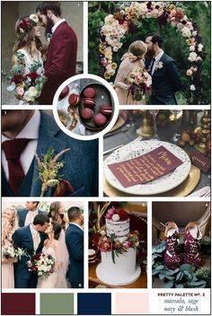 Цвет свадьбы в 2018 году фото обзор новинок идей