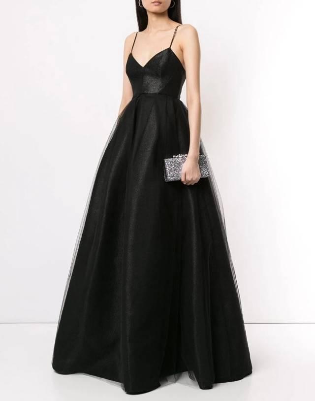 Длинные и короткие вечерние платья с открытой спиной – черные, белые, красные наряды