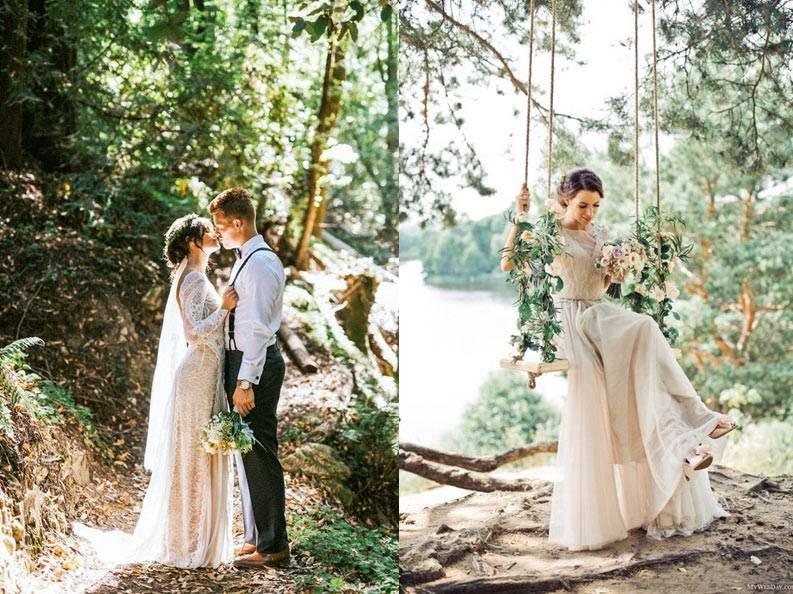 Лучшие позы для свадебной фотосессии: как правильно позировать?