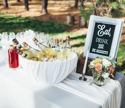 Баннер на свадьбу — полезные советы и оригинальные идеи (75 фото + видео)
