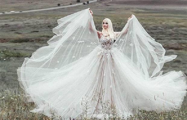 Красивые платья для мусульманок