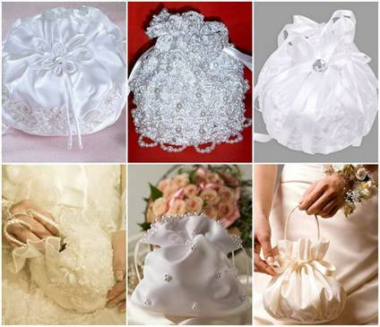Красивая сумочка для невесты своими руками