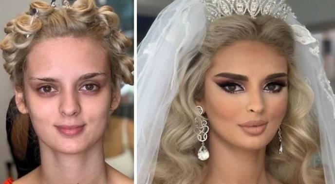 Свадебный макияж для брюнеток — создаем таинственность и женскую загадочность + 81 фото
